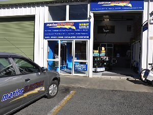 Marine Electrics Opua showroom